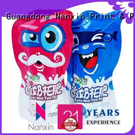Nanxin Print & Packaging plastic flexible pouches packaging for business for snacks