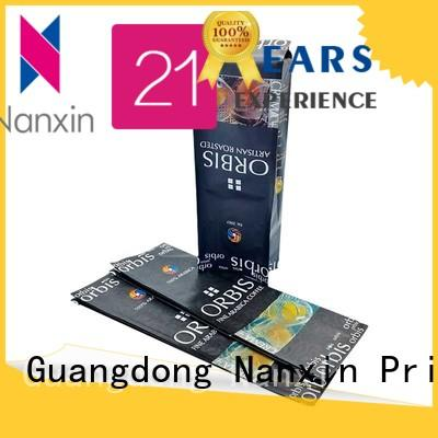 Nanxin Print & Packaging High-quality flexible pouches packaging for business for foods