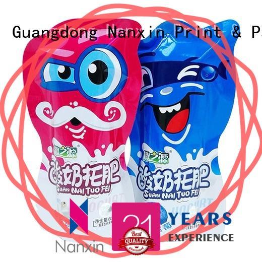 Nanxin Print & Packaging oxygen proof pouch packaging vacuum packaging foods