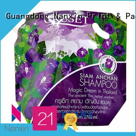 environmentally friendly spout bag flexible yoghurt