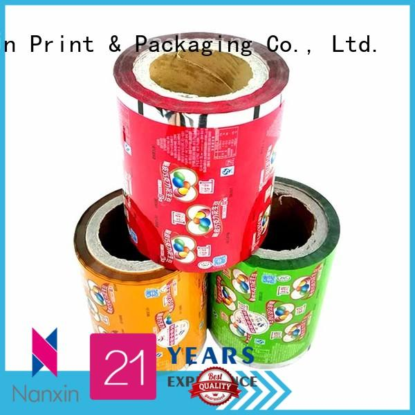 Nanxin Print & Packaging Wholesale printed packaging film suppliers for candy