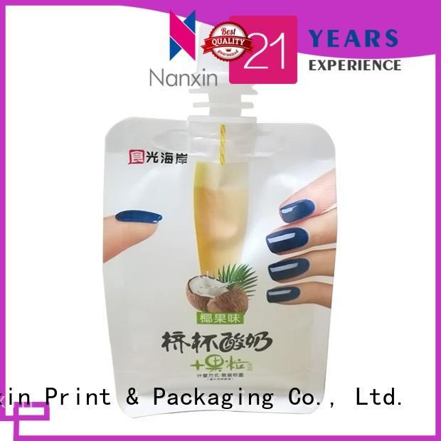 New liquid spout bag nozzle factory for lotion