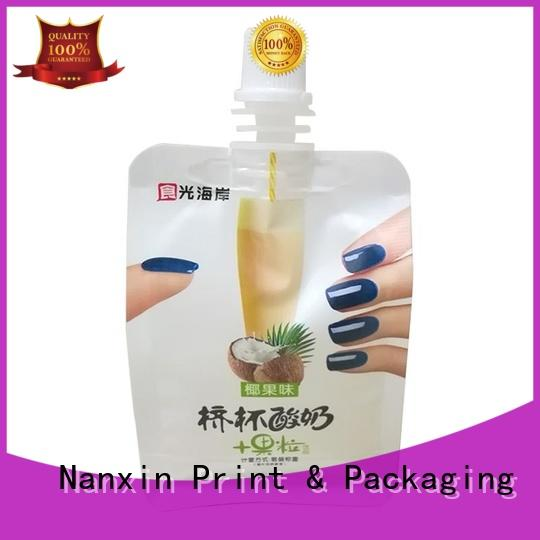 special shape liquid packaging novel pattern sauce Nanxin Print & Packaging