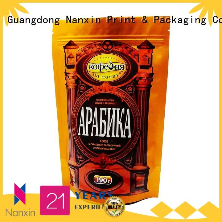 Nanxin Print & Packaging special shape stand up pouch bag long shelf life dried fruit or vegetable