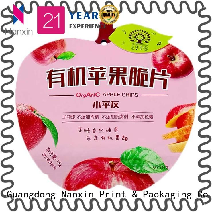 Nanxin Print & Packaging Wholesale pouch packaging factory for foods