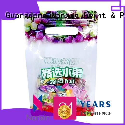 Nanxin Print & Packaging High-quality flexible pouches packaging factory for snacks