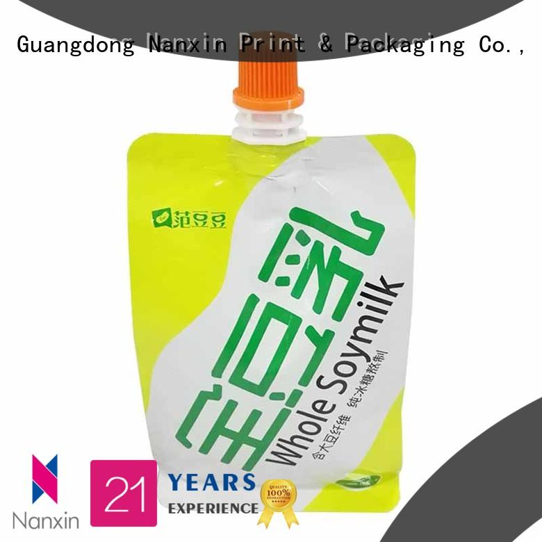 Nanxin Print & Packaging Top spout pouch manufacturers for sauce
