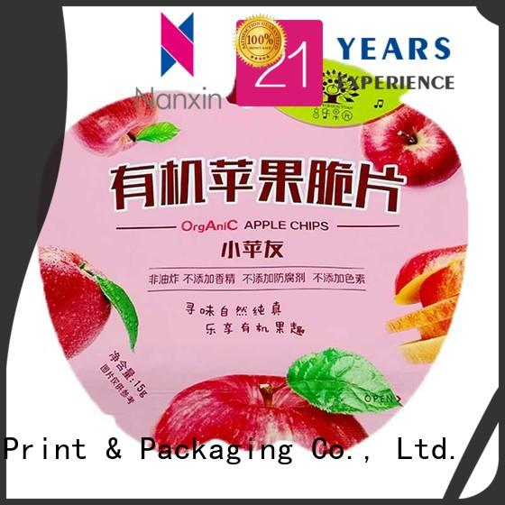 Nanxin Print & Packaging Top food pouch packaging factory for foods