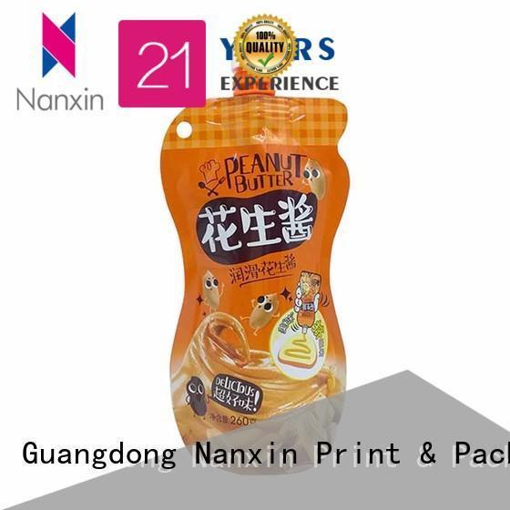 Nanxin Print & Packaging High-quality spout pouches for business for juice