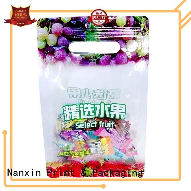 food packaging pouches three side liquids Nanxin Print & Packaging