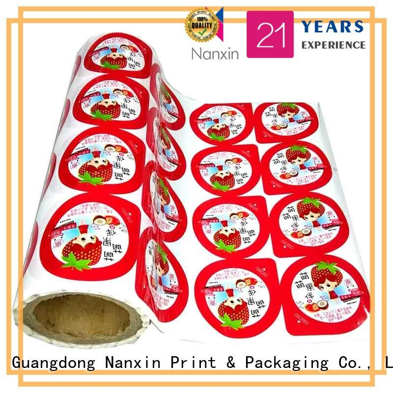 Nanxin Print & Packaging pet/al/cpp printed packaging film factory for candy