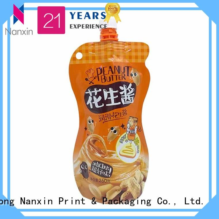Nanxin Print & Packaging convenient used spout pouches hygienic sauce