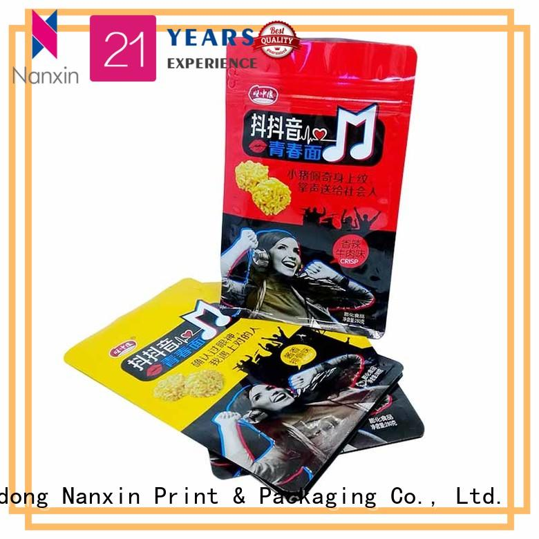 Nanxin Print & Packaging Wholesale gusset pouch suppliers for snack