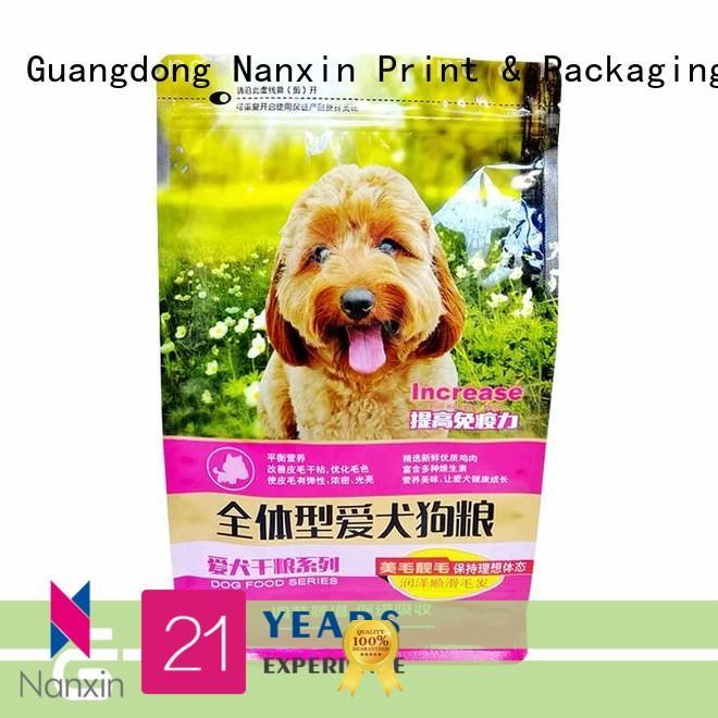 Nanxin Print & Packaging Top flat bottom bag suppliers for cookies