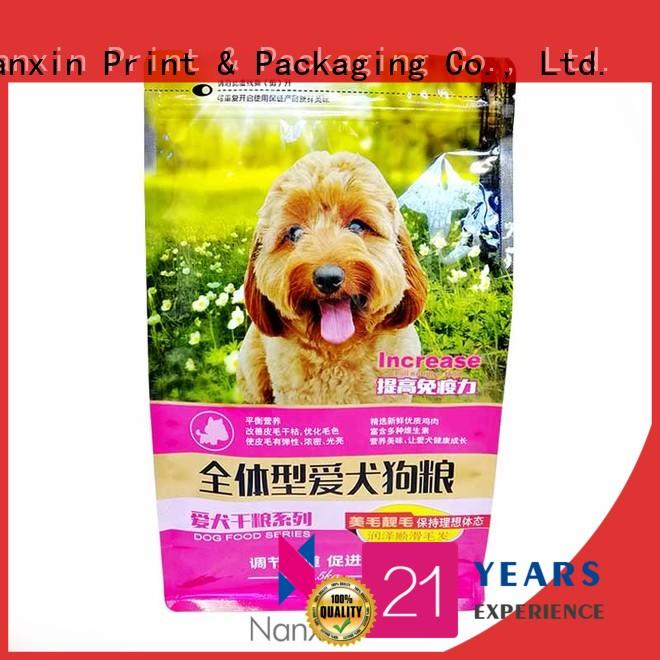 Nanxin Print & Packaging heat seal gusset pouch factory for cookies