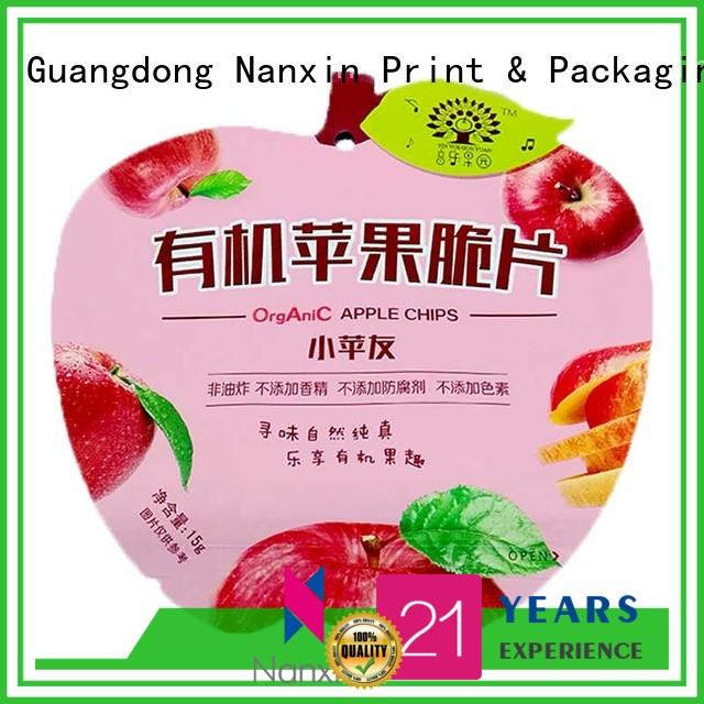 fashionable food packaging bags transparent vacuum packaging liquids