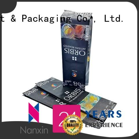 Nanxin Print & Packaging transparent pouch packaging for business for foods