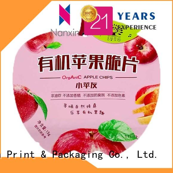 Nanxin Print & Packaging transparent flexible pouches packaging company for liquids