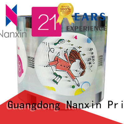 Nanxin Print & Packaging fashion bubble tea sealing film adorable drinks