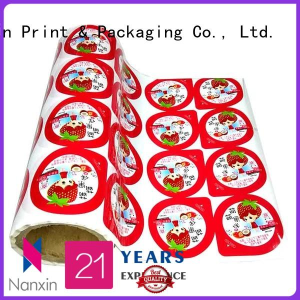 Nanxin Print & Packaging customized printed plastic roll photorealistic graphics cookies