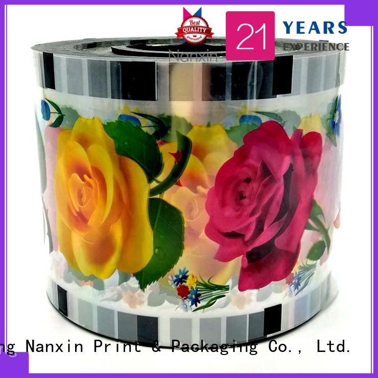 heat seal bubble tea sealing film eye-catching drinks Nanxin Print & Packaging