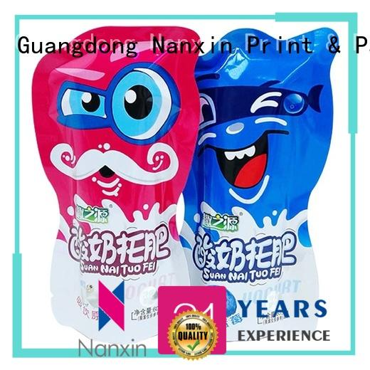 Nanxin Print & Packaging fashionable pouch packaging vacuum packaging snacks