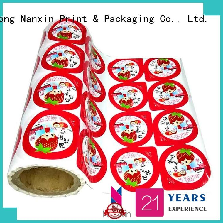 Nanxin Print & Packaging New printed plastic roll supply for candy