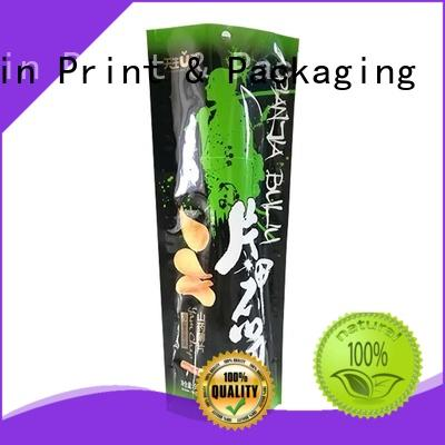 colorful custom printed stand up pouches long shelf life Pet foods