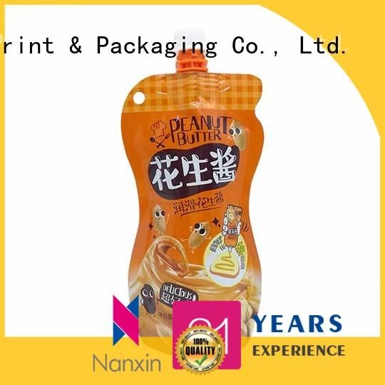 Nanxin Print & Packaging Latest spout pouches factory for lotion