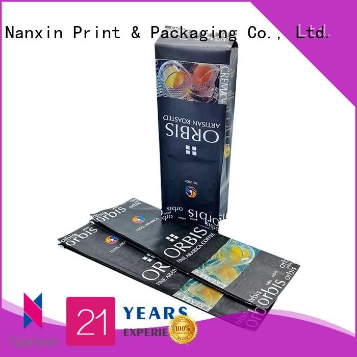 fashionable pouch packaging innovative pattern gravure printing liquids
