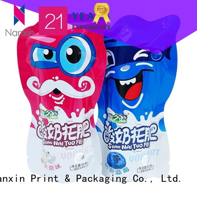 Nanxin Print & Packaging Wholesale flexible pouches packaging suppliers for foods