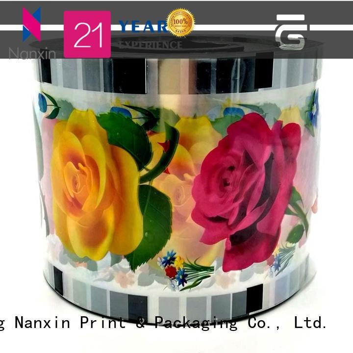 heat seal cup sealing machine film eye-catching jelly Nanxin Print & Packaging