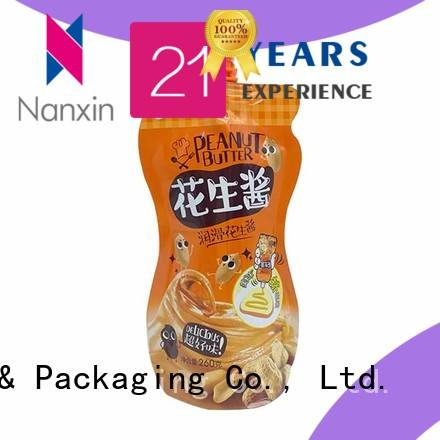 Nanxin Print & Packaging laminated films liquid spout bag company for sauce