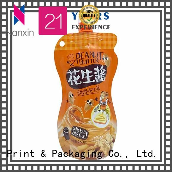 Nanxin Print & Packaging High-quality spout pouch wholesale for yoghurt