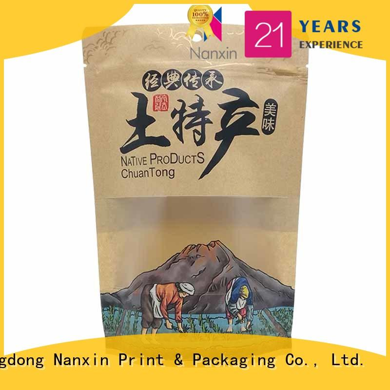 Nanxin Print & Packaging plastic stand up pouch bag for business for pet foods