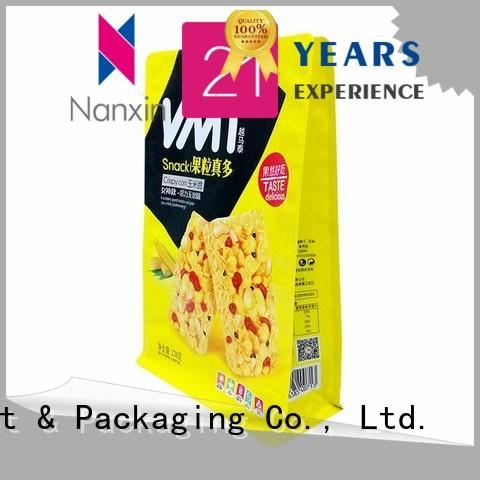 Nanxin Print & Packaging Custom gusset pouch manufacturers for snack