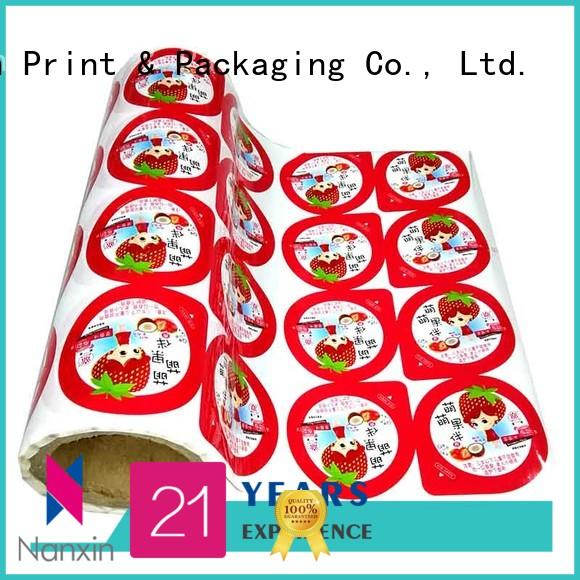 plastic roll for packaging pet/al/cpp pudding Nanxin Print & Packaging