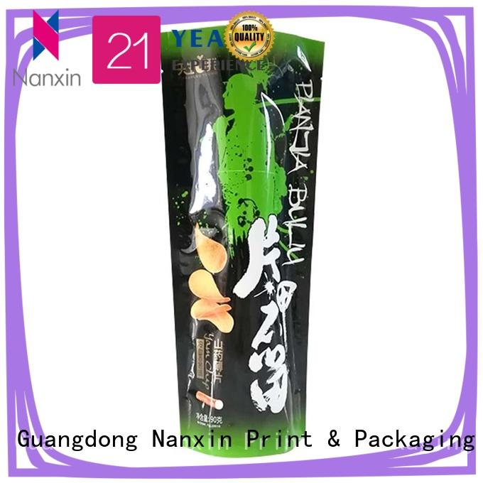 Nanxin Print & Packaging colorful stand up pouch bag nice color printing Pet foods