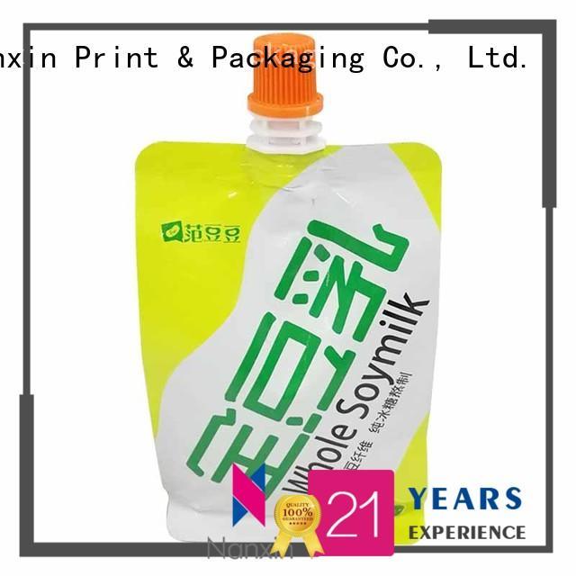 Nanxin Print & Packaging cost-effective spout pouches flexible juice