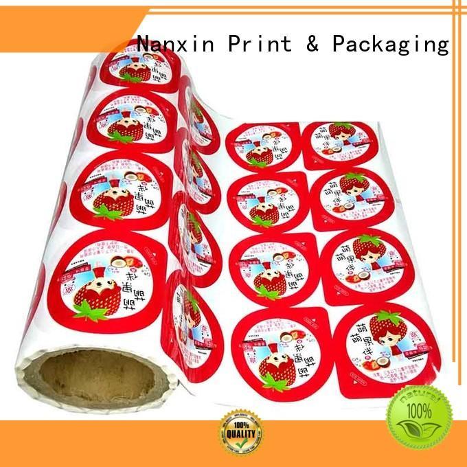 Nanxin Print & Packaging light proof packaging film metallic luster pudding