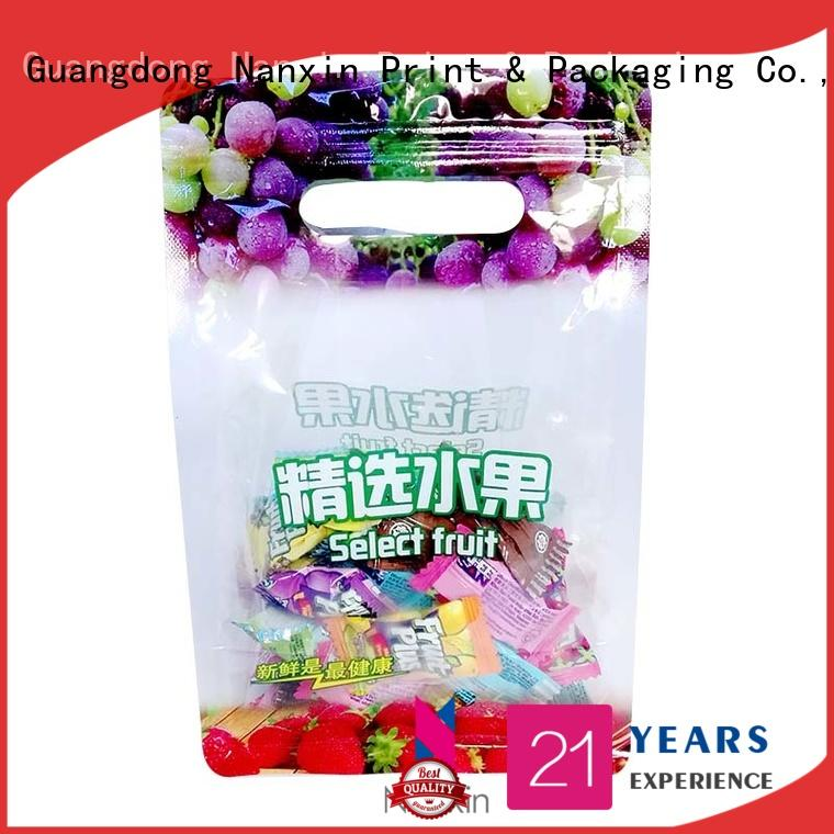 Nanxin Print & Packaging plastic packaging pouches company for snacks