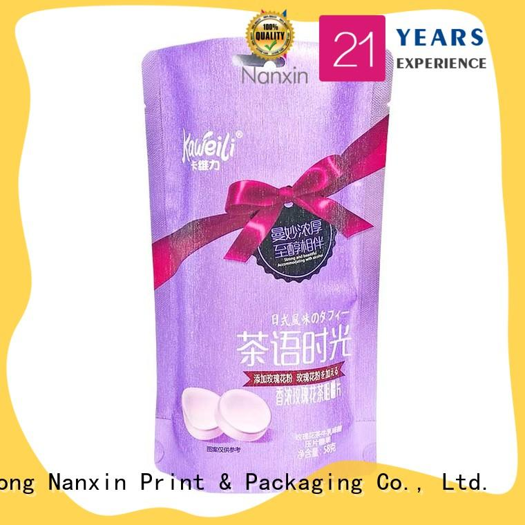 moisture proof food packaging pouches innovative pattern strong sealing foods