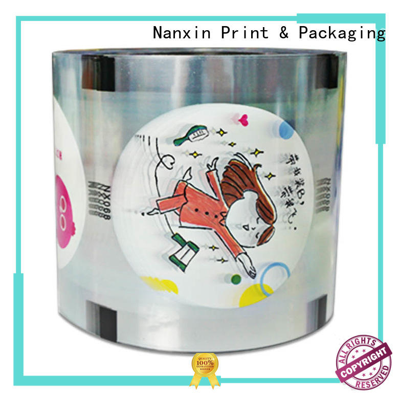 customized sealing film suppliers adorable jelly Nanxin Print & Packaging