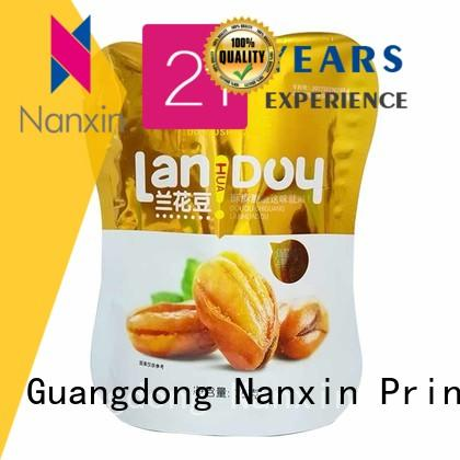 Nanxin Print & Packaging High-quality standing up pouch supply for dried fruit or vegetable