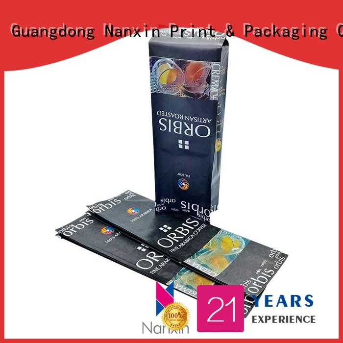 Nanxin Print & Packaging oxygen proof pouch packaging gravure printing snacks